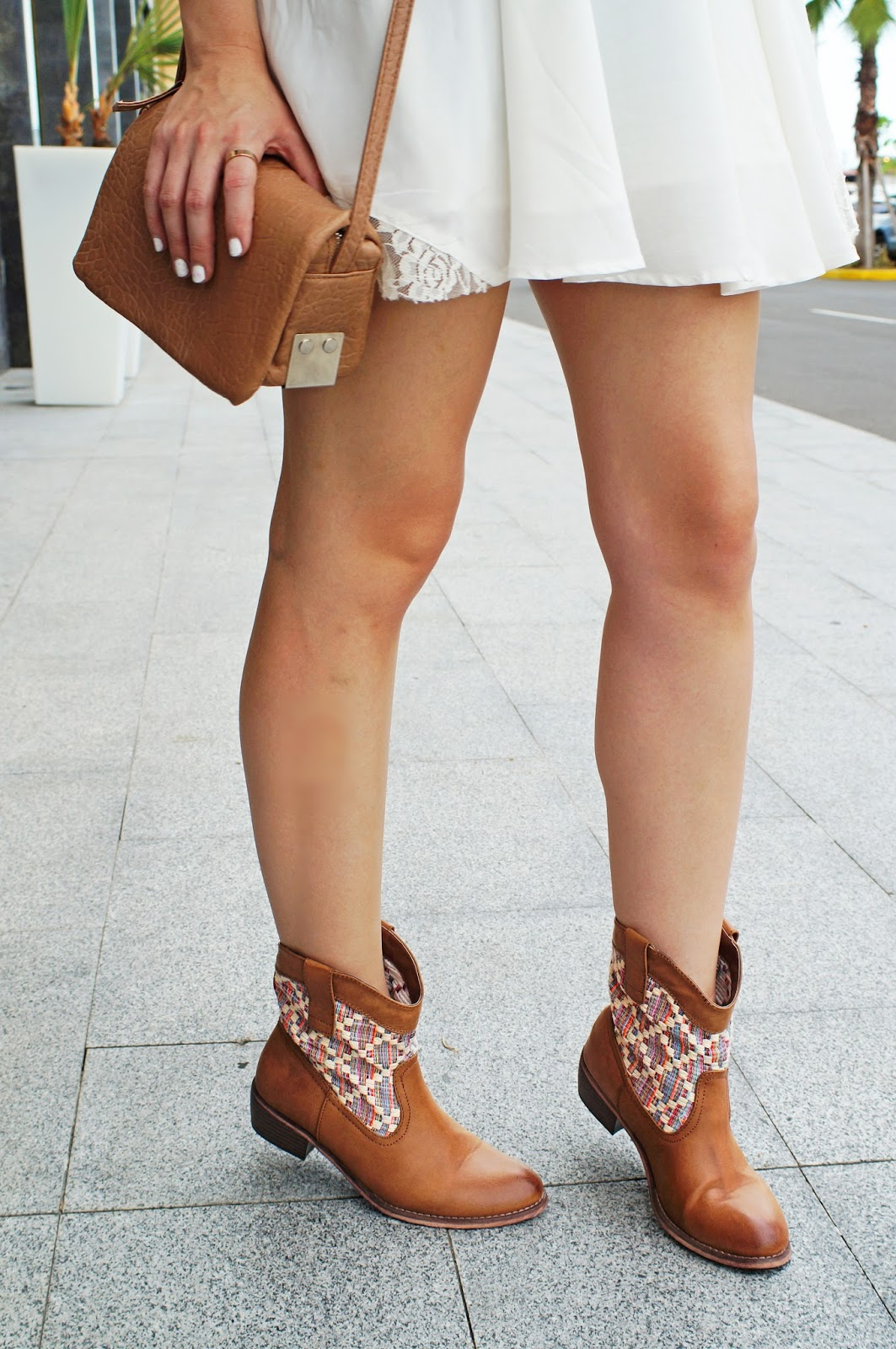 Casual Outfit wearing Booties
