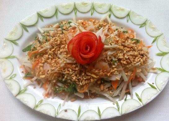 Cách làm món Nộm củ đậu cà rốt ngon