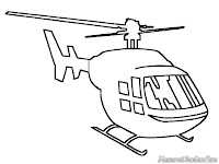 Download Buku Mewarnai Gambar Helycopter