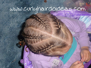 Quick And Easy Protective Hairstyle For Toddler