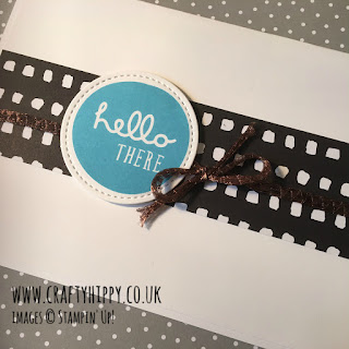 Learn how to make a beautiful masculine card using Patterns & Pieces by Stampin' Up!