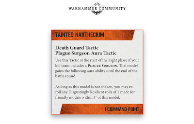 Tácticas Comandantes Kill Team death guard