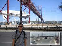 Bridge Ponte 25 de Abril, Lissabon, On Her Majestys Secret Service