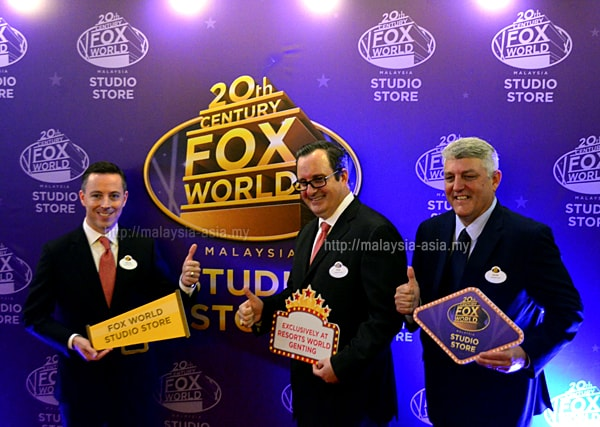 Malaysia 20th Century Fox World Studio Store