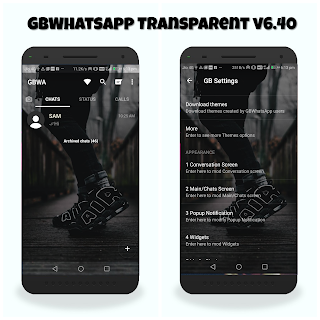 GBWhatsApp Transparent