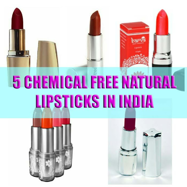 5 Natural, Lead Free, Safe and Affordable Lipstick Brands in India ...