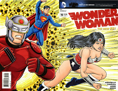 WONDER WOMAN #19 Sketch Cover!