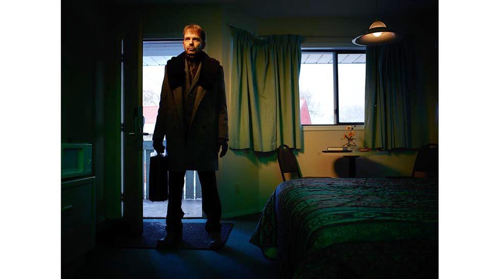 Billy Bob Thornton as Lorne Malvo in Fargo Season 1 Episode 4 Eating the Blame