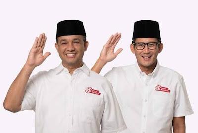Exit Poll LKPI: Anies-Sandi Menang