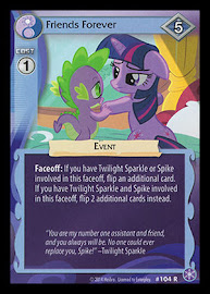 MLP Friends Forever The Crystal Games CCG Card