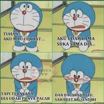 Kumpulan Meme Doraemon Lucu Bikin Ngakak