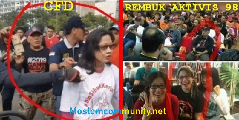 """Lagi! Netizen BONGKAR """"Gelang Kode CFD"""" Yang TERCYDUK Hadir di Rembuk Aktivis 98"""