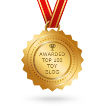 Top 100 Toy Blog Award