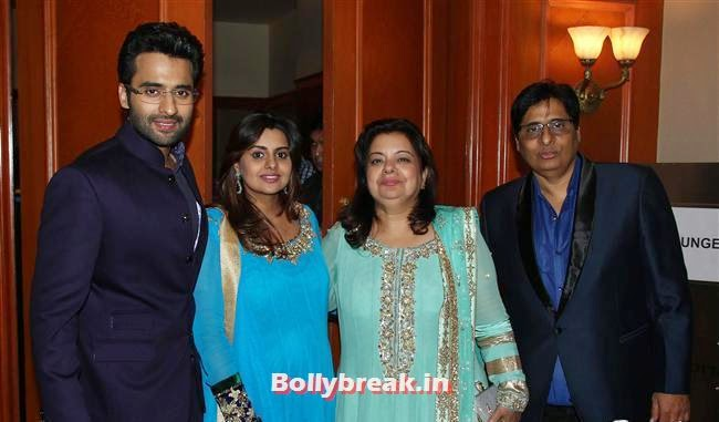 Jackie Bhagnani, Honey Bhagnani, Puja Bhagnani and Vasu Bhagnani, Vashu Bhagnani's Puja Films 25 Film Completion Party