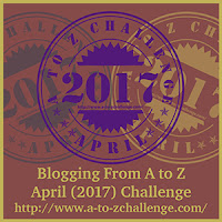 A to Z Challenge Badge 2017