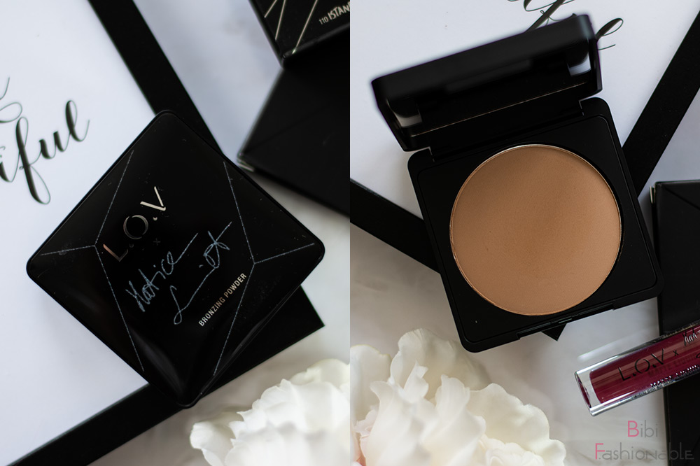 LOV Cosmetics x Hatice Schmidt Bronzer Bronz die Wand an