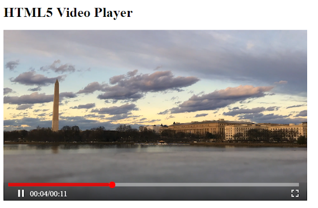 HTML 5 video player css-magz demo.