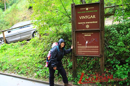 Entrada a Vintgar Gorge
