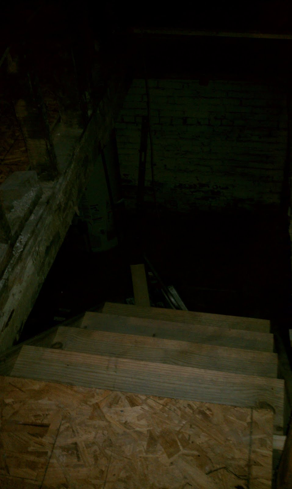This Old Hampshire House Stairway To A Scary Basement