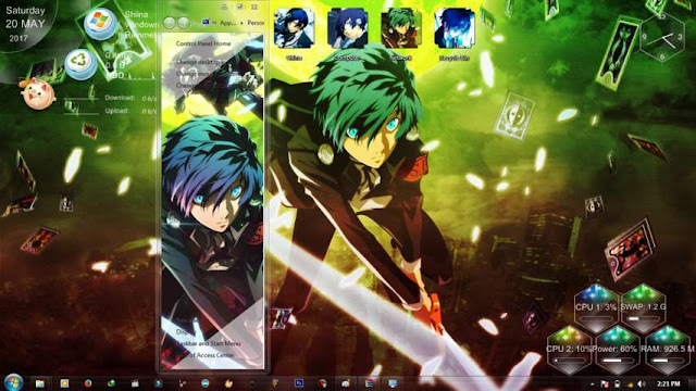Persona 3 Theme Win 7 by Bashkara