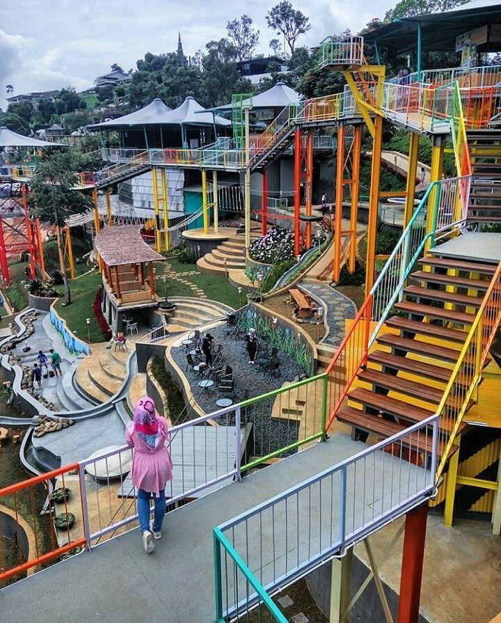 Lokasi Dan Harga Tiket Masuk Ddieuland Punclut Bandung