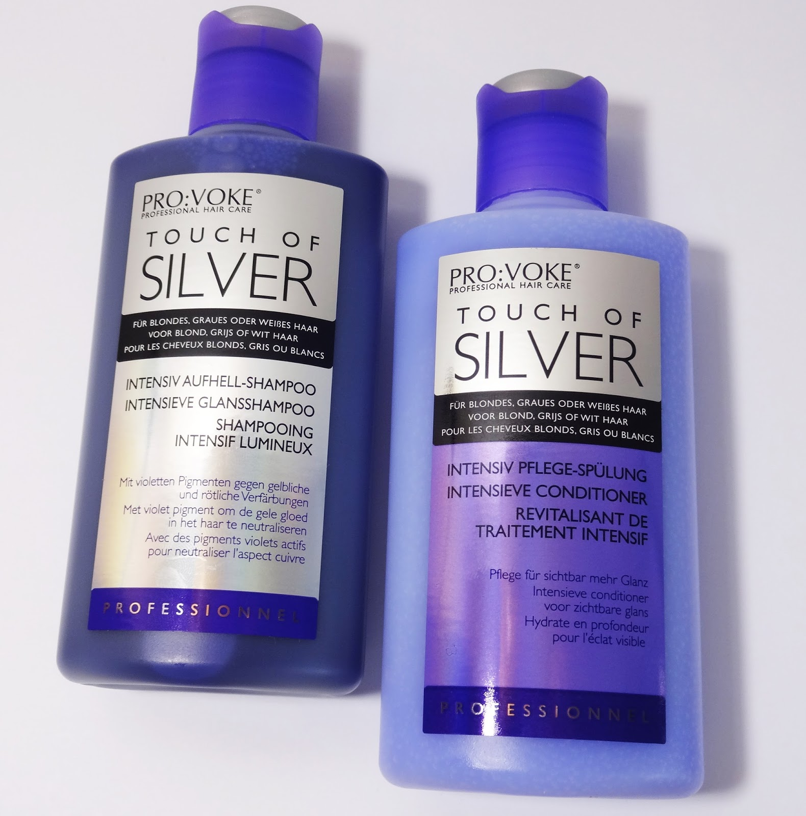 Pro:Voke - Touch of Silver - Intensiv Aufhell-Shampoo & Pflege-Spülung