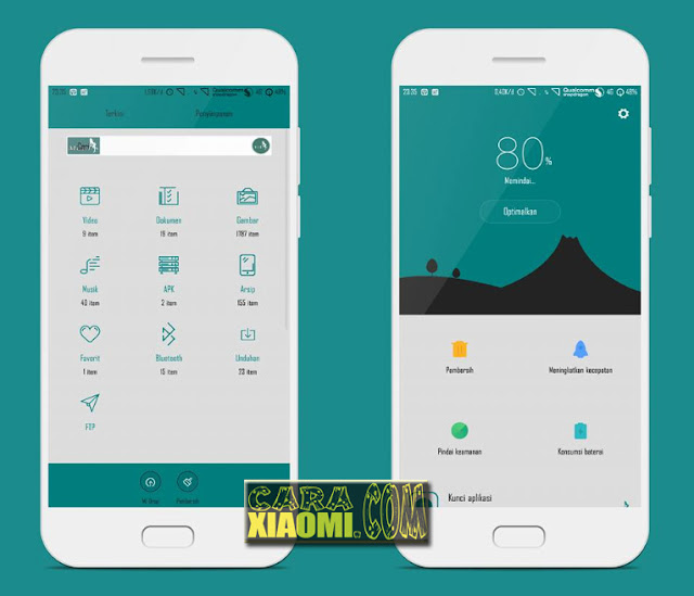 Link Download Tema MIUI Xiaomi Meki Light Themes Mtz Terbaru: