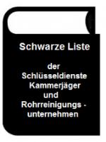 Kanalreinigung Aschaffenburg Schwarze Liste