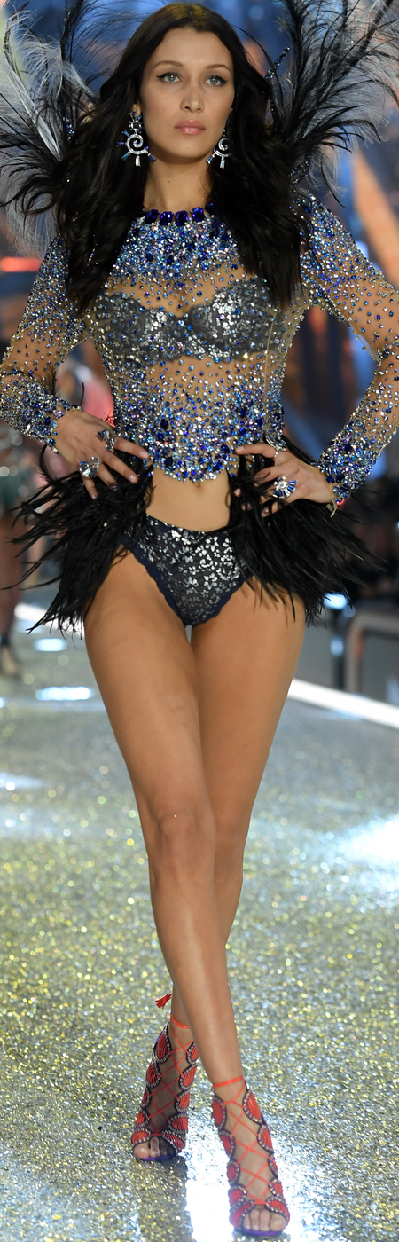 Bella Hadid 2016 Victoria's Secret Fashion Show