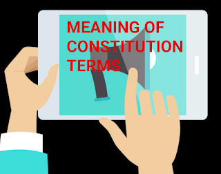 MEANING, CONSTITUTION, SOVEREIGN, SOCIALIST, SECULAR, DEMOCRATIC, REPUBLIC