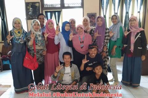 Geliat Literasi di Indonesia Melalui #BukuUntukIndonesia