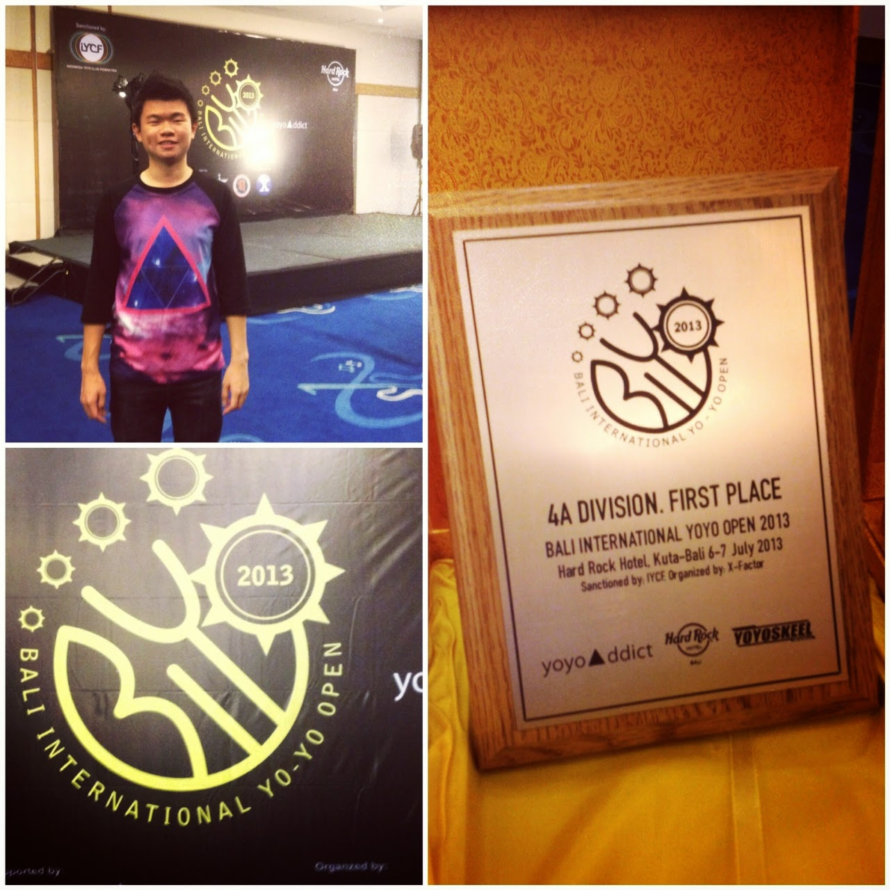WON 4A in BALI INTERNATIONAL YOYO OPEN 2013