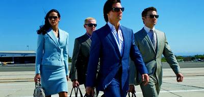Paula Patton, Simon Pegg, Tom Cruise şi Jeremy Renner în Mission Impossible: Ghost Protocol