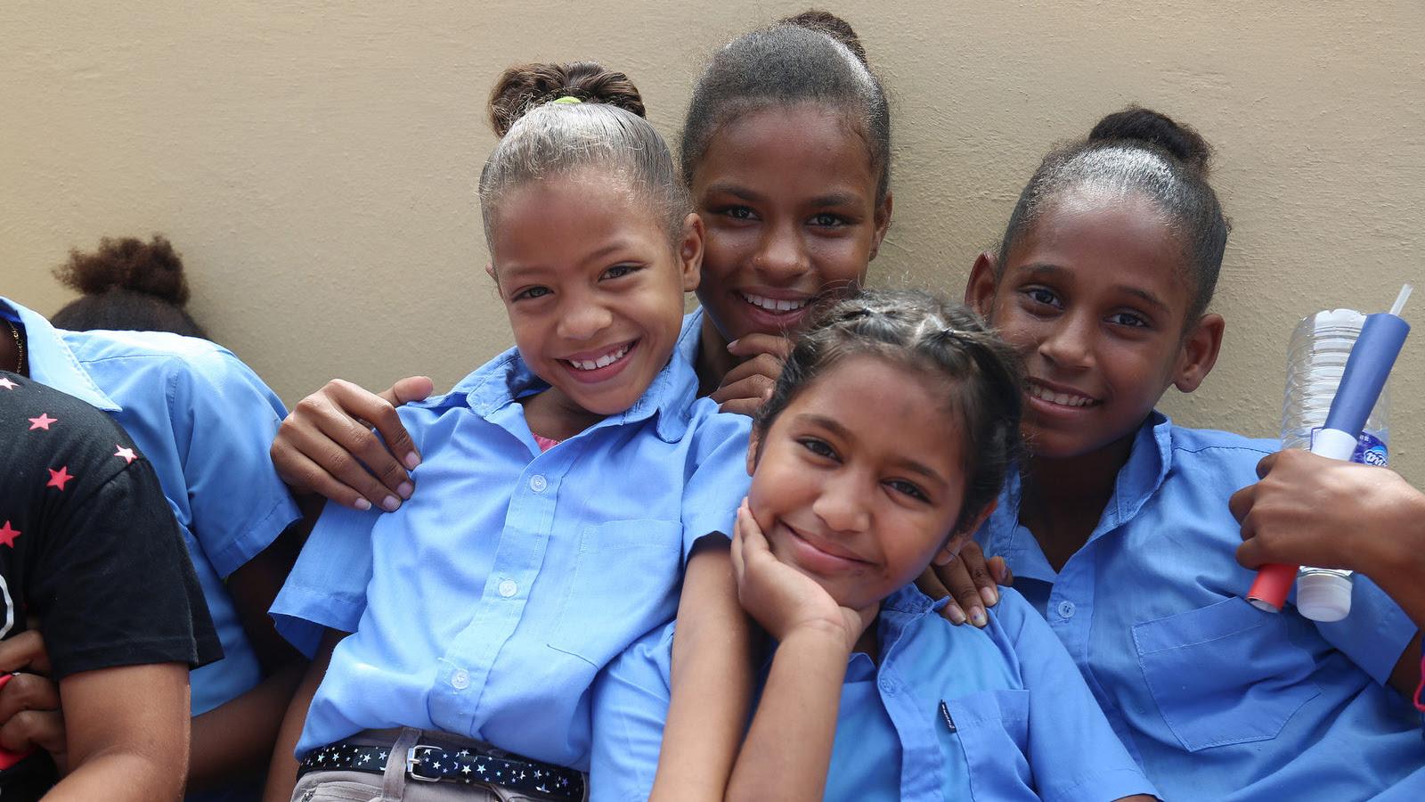 """Comunitarios de Angelina: """"Estamos muy agradecidos con esta escuela"""""""