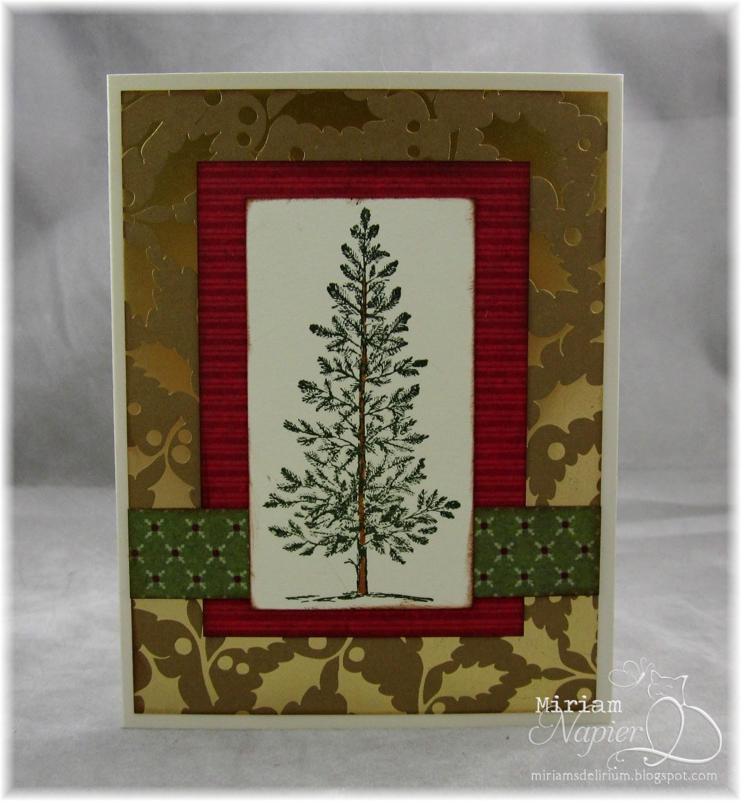 Miriam's Delirium: Simple Christmas Cards