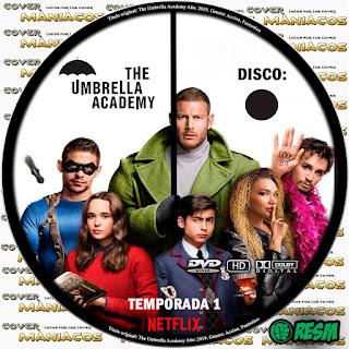 GALLETA THE UMBRELLA ACADEMY - TEMPORADA 1 - 2019 - [COVER DVD]
