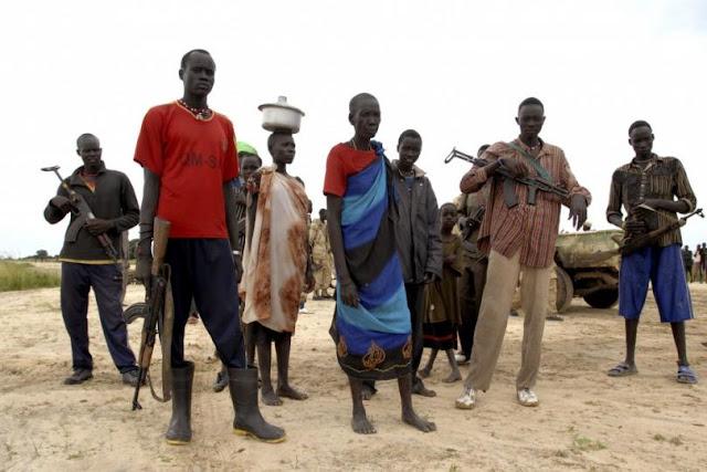 世界一背の高い民族ディンカ族。人間の進化した姿?【c】 内戦により背が低くなった?