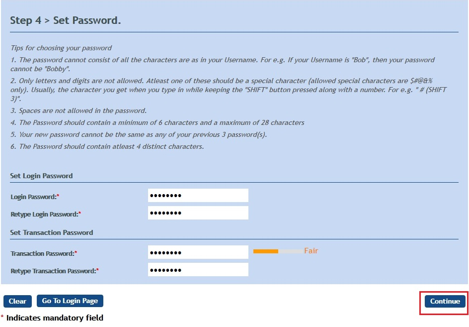 vijay bank internet banking login