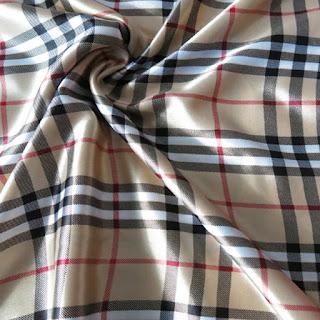 Kain Satin Lembut merupakan bahan kain untuk membuat gorden minimalis