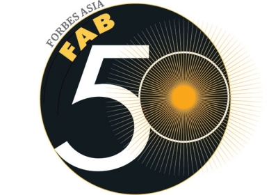 Forbes Fab 50 logo