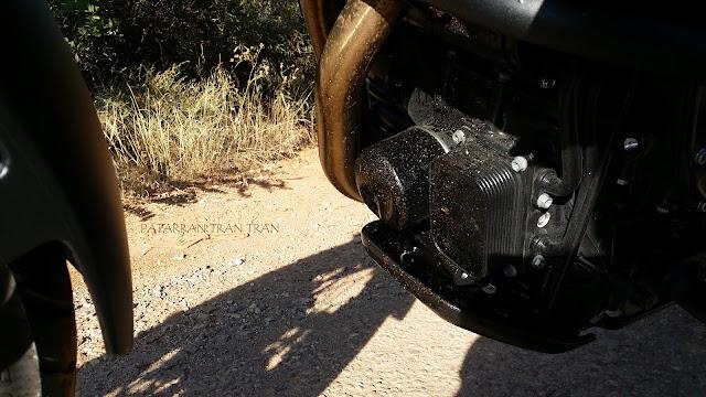 BMW F 800 GS. Filtro de aceite roto... y motor gripado.