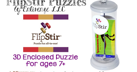 FlipStir Puzzle from Enlivenze LLC {Product Review}
