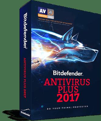 الأنتفيروس الأكثر تقثة Bit Defender Antivirus Plus 2017