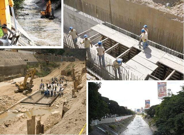 saneamiento del rio guaire