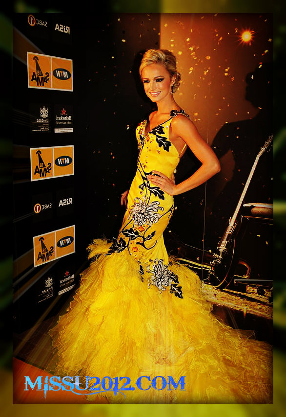07ccf33dd6a37 Watch Miss Universe 2012 Live Stream: Miss South Africa 2012 ...