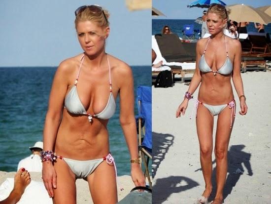 tara reid: tubuh selebriti terburuk saat di pantai