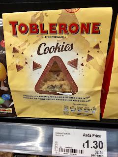 fresh toblerone cookies