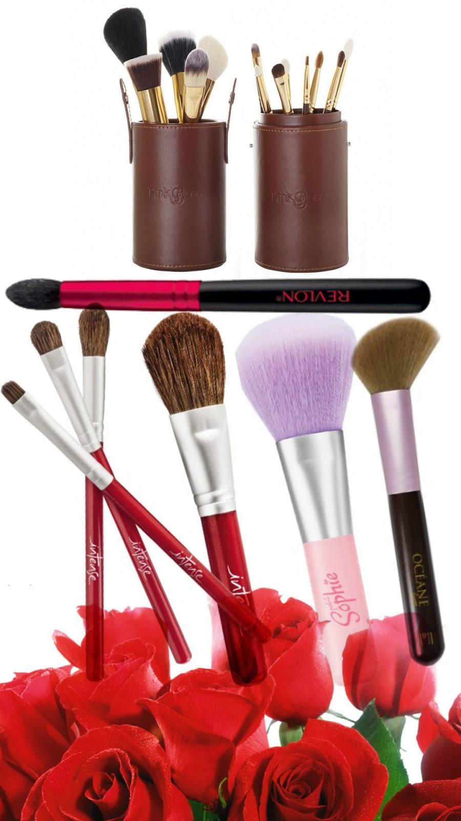 Kit de Pincéis, pinceis, pincel, pincel de maquiagem, maquiagens, comprar maquiagem, dicas de maquiagem, kit de maquiagem, loja de maquiagem, blog de maquiagem, presente, presentes, presente dia das mães