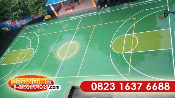 Pengecatan Lapangan Basket, Jasa Pengecatan Lapangan Basket, Harga Pengecatan Lapangan Basket, Proposal Pengecatan Lapangan Basket, Cara Pengecatan Lapangan Basket