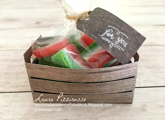 Watermelon Wood Crate